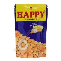 HAPPY PEANUTS GARLIC - SNACK SALATO 24x100g