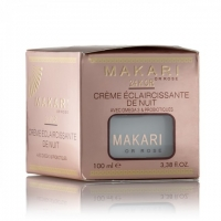 MAKARI 24K OR CREME ECLAIRCISSANTE DE NUIT - NIGHT CREAM 18x100ml