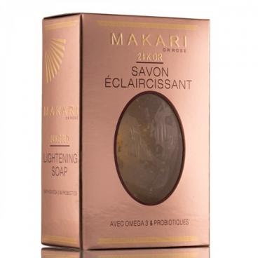 MAKARI 24K ORO SAVON ECLAIRCISSANT - BRIGHTENING SOAP 24x150g