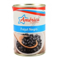 AMERICA FRIJOLES NEGROS - FAGIOLI NERI AL NATURALE 24x425g