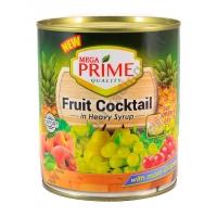 MEGA PRIME FRUIT COCKTAIL - FRUTTA SCIROPPATA 12x850g