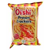 OISHI PRAWN CRACKERS REGULAR - SNACK SALATO 30x90g
