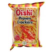OISHI PRAWN CRACKERS REGULAR - SNACK SALATO 30x90g