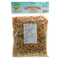 CUCINA FILIPINA TAPIOCA PEARL SMALL COLORED 30x454g