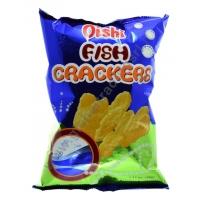 OISHI FISH CRACKERS - SNACK AL GUSTO PESCE 30x90g