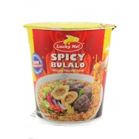LUCKY ME SUPREME BOWL SPICY BULALO - NOODLES ISTANTANEI 24x70g