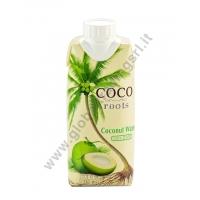 COCO ROOTS  COCONUT WATER - BEVANDA AL COCCO 12x330ml