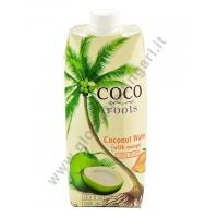 COCO ROOTS  COCONUT WATER WITH MANGO - BEVANDA AL COCCO 12x500ml