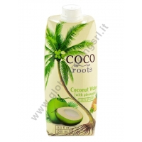 COCO ROOTS  COCONUT WATER WITH PINEAPPLE - BEVANDA AL COCCO 12x500ml