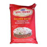 KING CROWN GOLDEN SELLA - RISO BASMATI PARBOILED 4x5kg