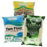 Rice, Legumes, Flours