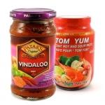 Condimenti in pasta e curry